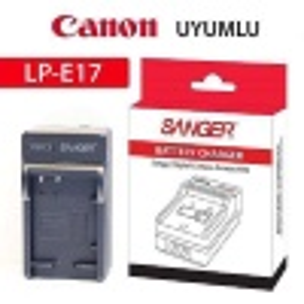 Sanger LP-E17 Canon Şarj Aleti Şarz Cihazı