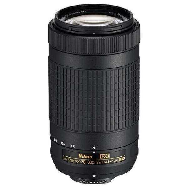 2. El Nikon AF-P 70-300mm f/4.5-6.3G ED DX Lens (Sıfır Gibi)