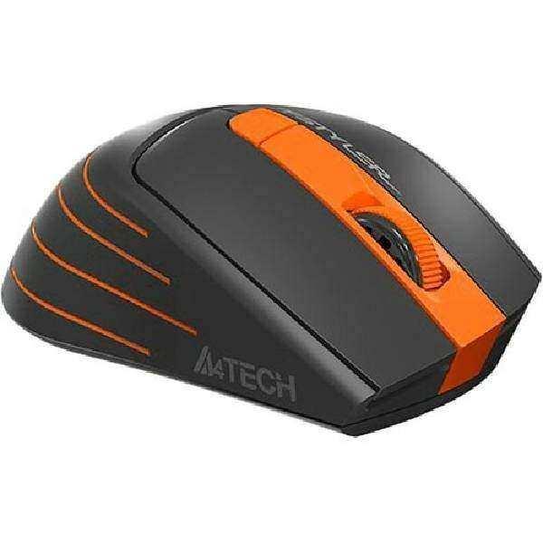 A4 TECH FG30 Nano Alıcılı Kablosuz 2000dpi Turuncu Mouse