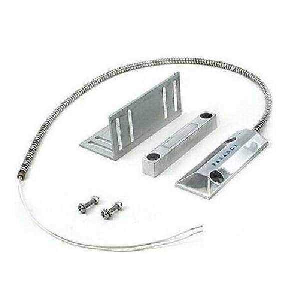 Endüstriyel Kepenk Tipi Metal Manyetik Kontak (Gümüş)