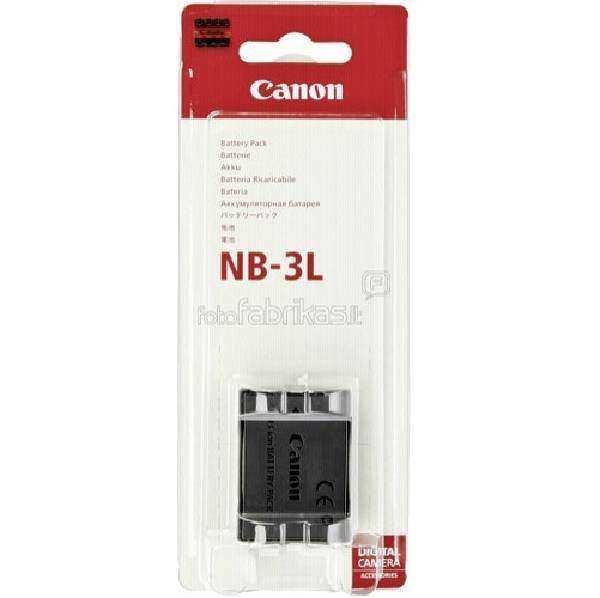 For Canon NB-3L Batarya