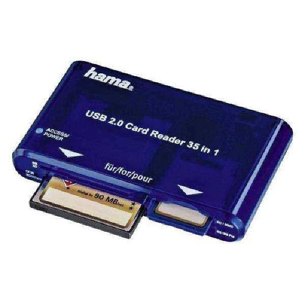 Hama USB 2.0 Kart Okuyucu 55348 SD/CF