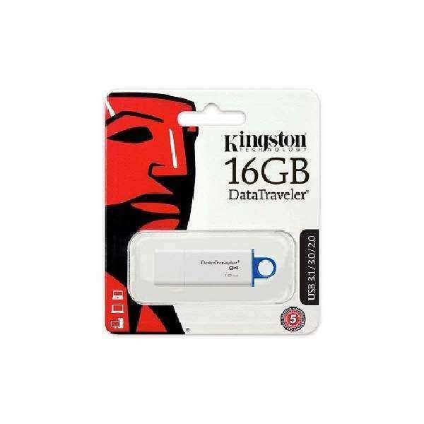 Kingston 16Gb Beyaz Usb  3.1/3.0/2.0  Flaş Bellek