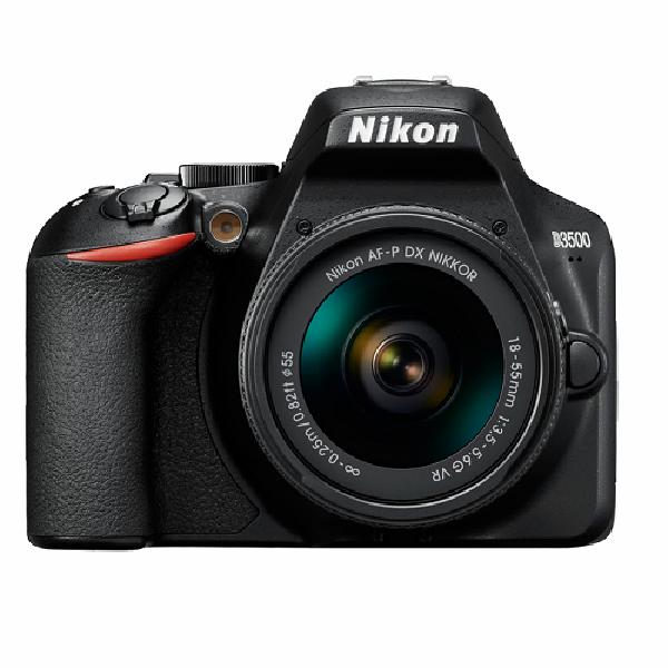 Nikon D3500 + AF-P 18-55 VR KIT Fotograf Makinası (Nikon Türkiye Garantili)
