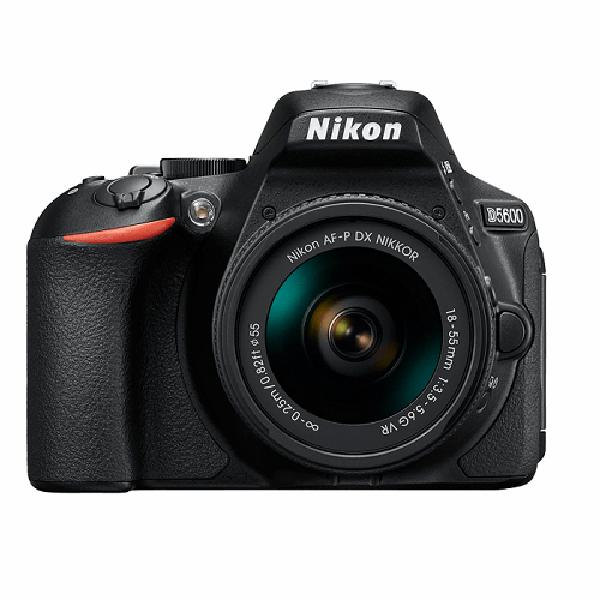 Nikon D5600 18-55mm AF-P DX VR Kit Lens Fotoğraf Makinesi (Nikon Türkiye Garantili)