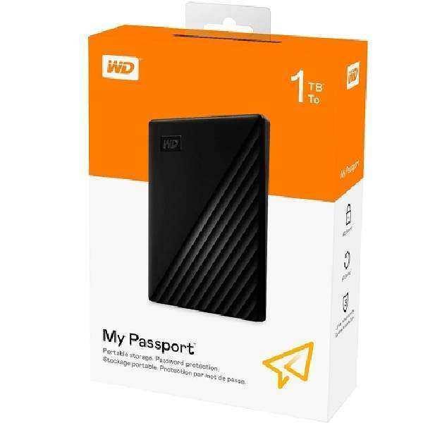WD 1 TB My Passport Portable External Harddisk